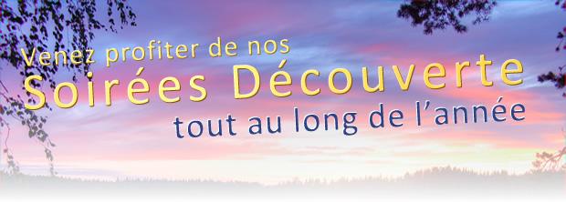 Soirées Découvertes et Journées Portes Ouvertes 2014
